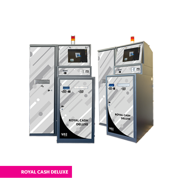 royal cash deluxe con ribbon vne 1 - Plus Change VLT - vne -
