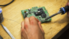 dettaglio microchip saldato vne 140x80 - Azienda - vne -