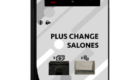 plus change fronte vne 140x80 - Plus Change Salones - vne -