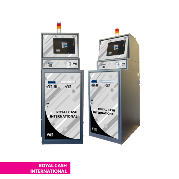 royalcash international 1 - Plus Change VLT Deluxe - vne -