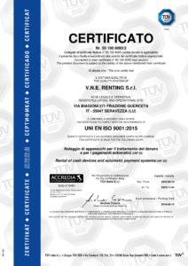 Certificato ISO 9001 2015 VNE Renting Srl pdf 2 212x300 - Certificato ISO 9001 2015 VNE Renting Srl - vne -