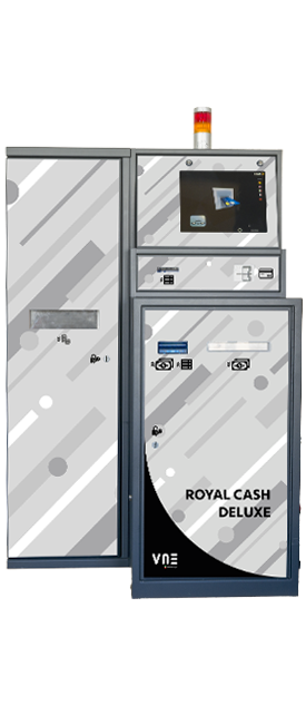 royal cash deluxe fronte vne - Royal Cash Deluxe - vne -