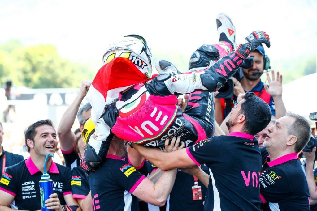 62262335 2247702198651233 6408553494436904960 o 1024x683 - VNE Snipers: Tony Arbolino, campione di Moto3 al Mugello - vne - news