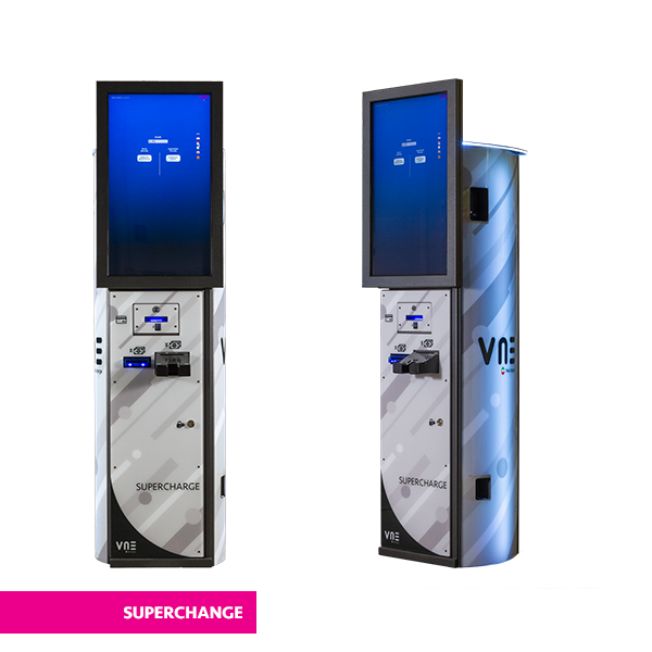 SUPERCHARGE conribbon - Plus Change VLT Deluxe - vne -